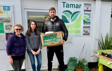 Raiders Team up with Tamar Grow Local and Courier Force to ensure food reaches those in Social-Isolation